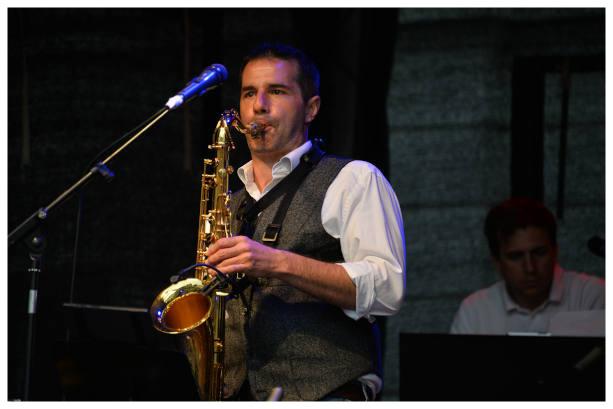 Hochzeit mit Liveband / Saxophon